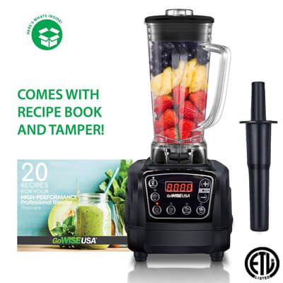Best Blenders for Protein Shakes GoWISE USA 1450W Blender